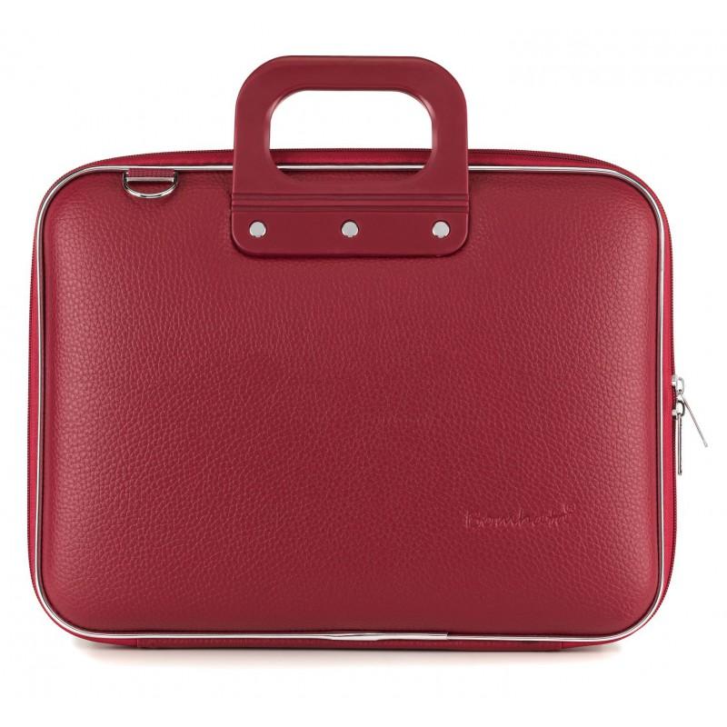 "torba na laptopa Bombata Medio 13"" burgundowa"