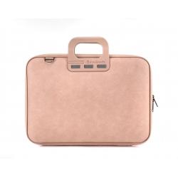 """torba na laptopa Bombata Denim 15,6"""" pudrowy róż"""