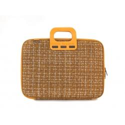 "Bombata Tweed 15,6"" żółta"