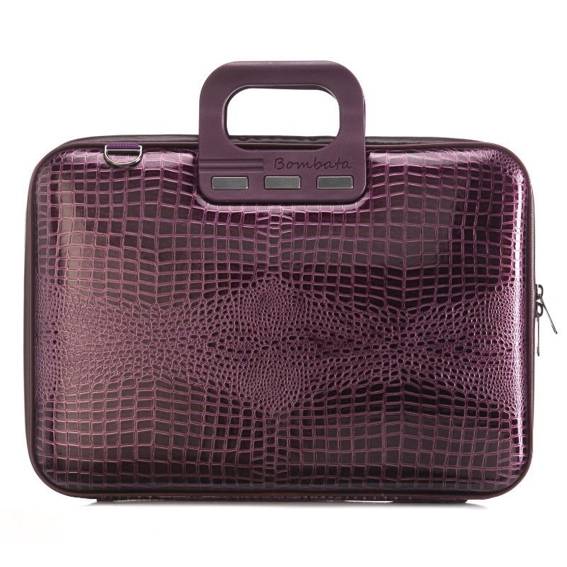 """torba na laptopa Bombata Shiny Cocco 15,6"""" śliwkowa"""
